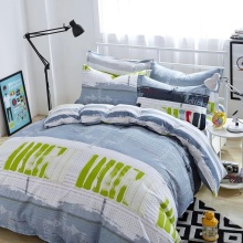 100% Cotton Pigment Printed Bedding Set/ Comfort Set