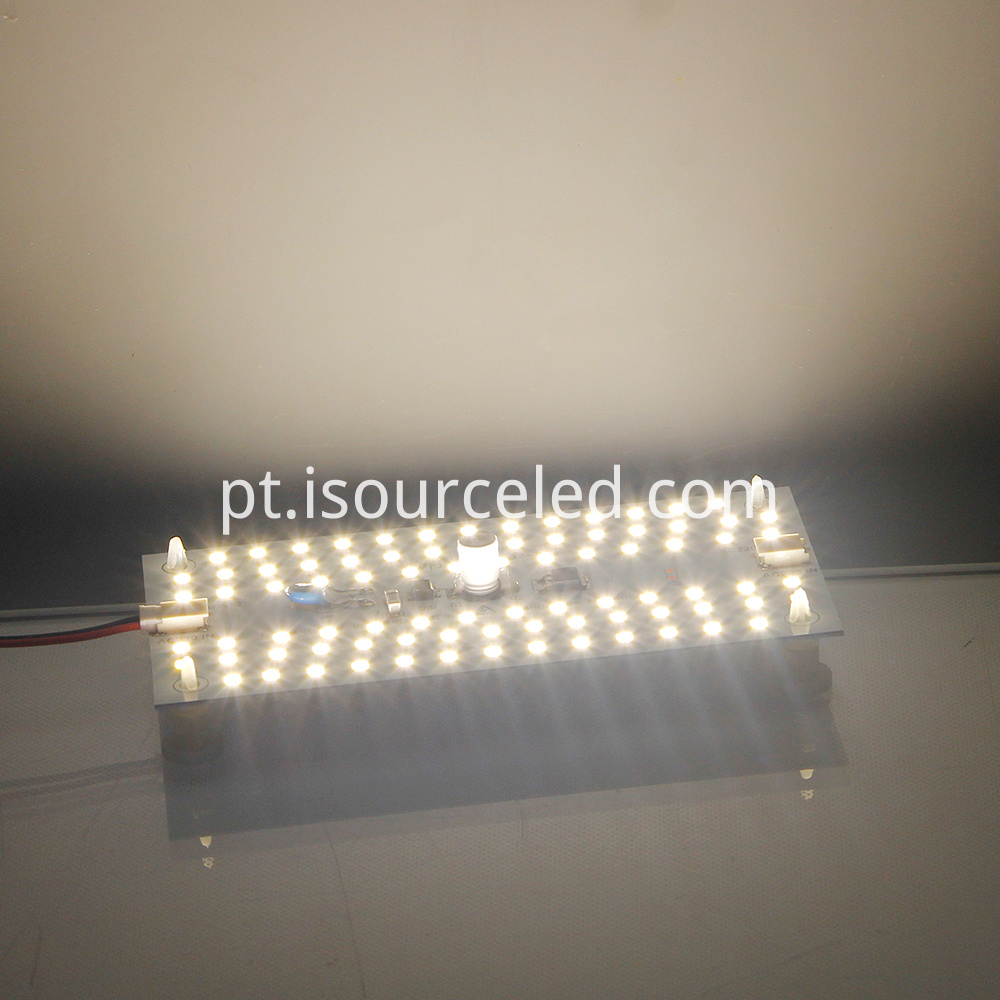 Glowing map of Square custom smd 2835 9W AC COB Module