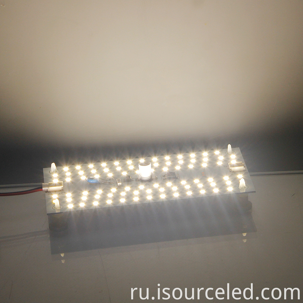 Glowing map of SMD driverless 220V 9W AC LED Module