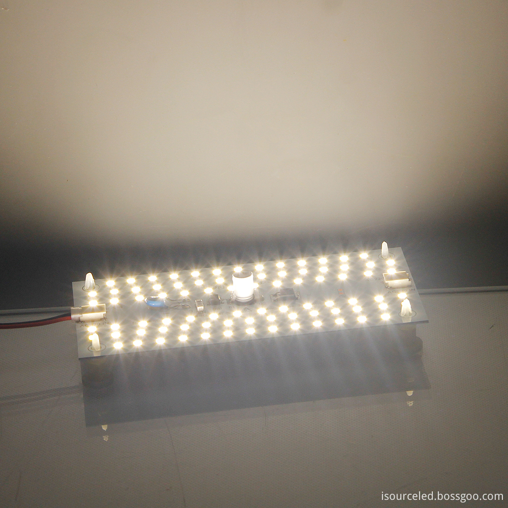 Glowing map of square custom AC smd 2835 9W ceiling module
