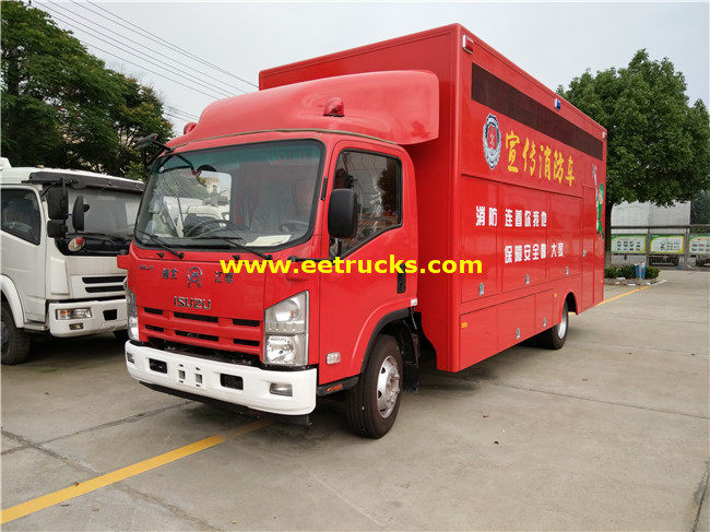 ISUZU 4000L Used Fire Trucks