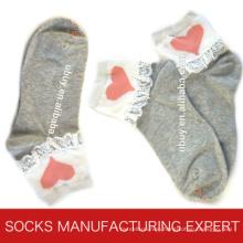 Women′s Causal Cotton Sock (UBM1062)