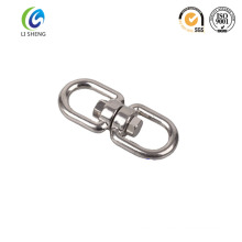 Hot sale 304/316 eye and eye chain swivel
