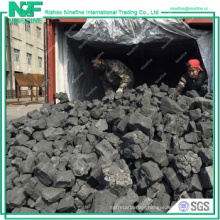 Best price big sizes hard coke for custing industry