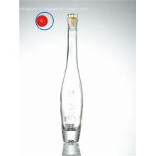 Bouteille en verre à l'huile d'olive