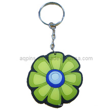 High Quality Soft PVC Key Chain with Flower Logo (KC-08)