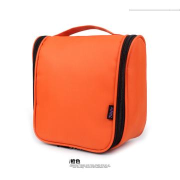 Die Orange Farbe Kulturtasche
