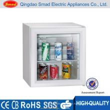 Hohe Qualität Hotelzimmer verwenden geräuschlos keine Vibrationen Hochleistungs-Glastür Kühlschrank