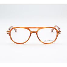 Monture de lunettes optique jaune design abordable 2018 pour lunettes de vue en acétate de filles