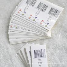 Impresión respetuosa del medio ambiente de Stickets para la tela de la ropa