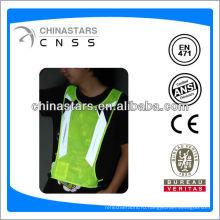 EN471 / ANSI T / C или 100% полиэстер пришивают отражающую ленту для одежды