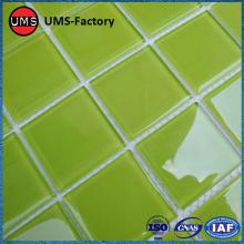 Mozaïektegels met groen porselein