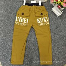 moda bebê meninos jeans / jeans grossos para o inverno