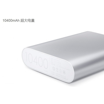 Taille ronde 10400 mAh Lithium Powrbank