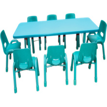Muebles de jardín de infantes Escritorio de niños y silla para el escritorio de la escuela