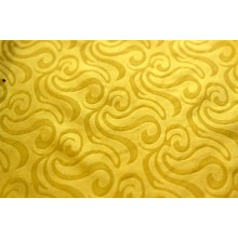 embossed polyester dyed fabric