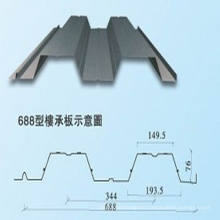 Steel Structure Material, Yx688 Floor Decking Sheet (XGZ-34)
