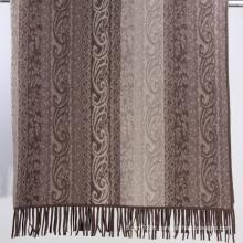 Fashion 100% Cashmere Jacquard Blanket (13-BRHZ1212-3)