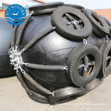 inflatable floating marine boat pneumatic type rubber fender for ships & floating docks