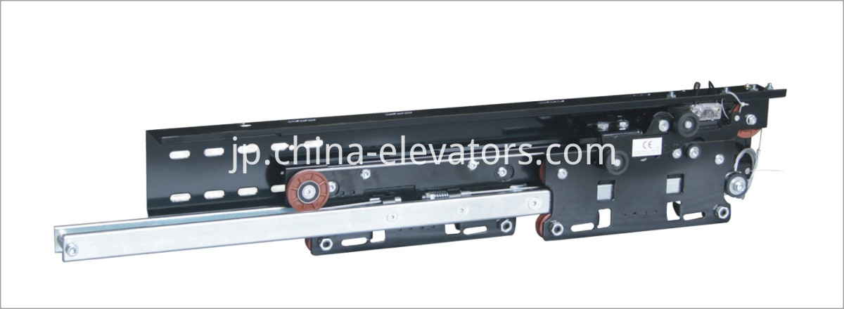 Wittur Selcom Elevator Landing Door Mechanism Telescopic Side Opening