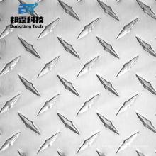 Plaque de bande de roulement en aluminium d'utilisation d'autobus de feuille de plancher de vérificateur