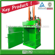 high efficient vertial baler for loose material