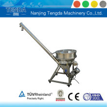 Alimentador automático del tornillo / cargador espiral para la máquina del extrusor del tornillo gemelo