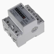 Einphasiges elektronisches Hutschienen-Aktiv-Energiezähler mit RS485-Kommunikation
