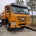 Caminhão basculante de transporte rodoviário em boas condições