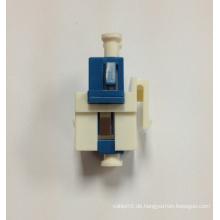 Snap-In Fiber Keystone Einsatz mit LC Duplex Adapter