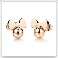 Moda jóias brinco de aço inoxidável (EE0131)