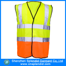Wholesale Two Tone Safety Multi Pocket Work Reflective Vest
