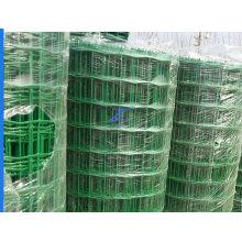 Clôture en grillage d'euro enduit d'euro de PVC de bas prix d'usine de la Chine