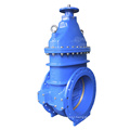 BS5163 Flanged Metal Seated Gate Valve with Bare Shaft Operator