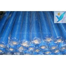 2,5 * 2,5 10mm * 10mm 90G / M2 Fiber Glas Wand Netz