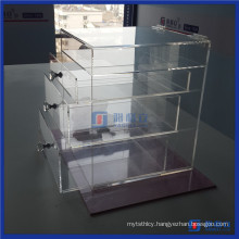 China Factory Clear Acrylic Makeup Case