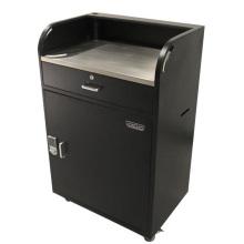 Multifunction Metal Reception Podium with Key Storage
