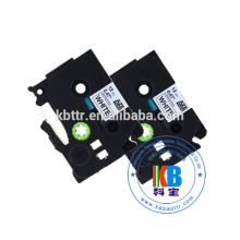 marca laminada tz 18mm fitas de etiquetas
