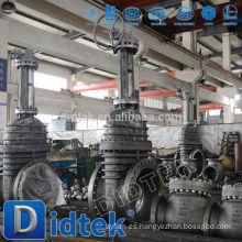 Didtek International Marca bronce brida válvula de compuerta