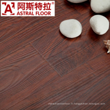 8mm HDF AC3 AC4 Surface de texture de bois réel (U-Groove) Revêtement de sol stratifié (AS2601)