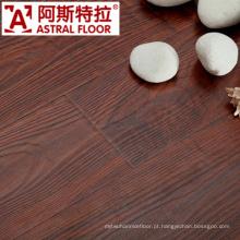 8mm HDF AC3 AC4 superfície de textura de madeira real (U-Groove) revestimento laminado (AS2601)