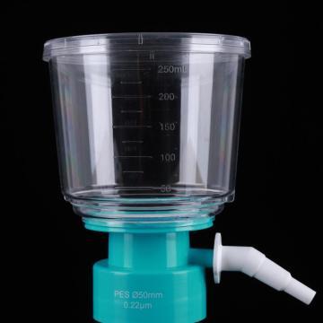 Filtre à vide de 250 ml à membrane PES