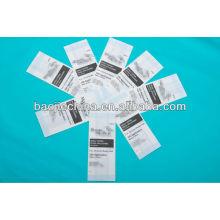Жара-уплотнение плоский мешок для стерилизации
