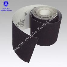 Les marchandises prêtes du rouleau de papier de sable de carbure de silicium de polonais