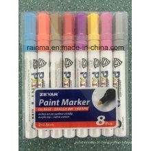 Tambor reciclado dos PP do plástico da cor do marcador da pintura de óleo