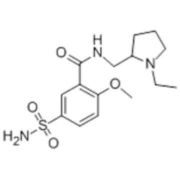 Benzamide,5-(aminosulfonyl)-N-[(1-ethyl-2-pyrrolidinyl)methyl]-2-methoxy- CAS 15676-16-1