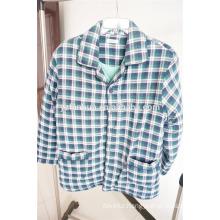 organic cotton men's winter homewear pajamas