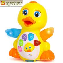 Brinquedo inteligente de pato dos desenhos animados para crianças
