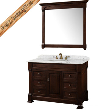 Antique Style Solid Wood Bathroom Cabinet Fed-1516