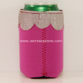 Wedding gifts Lace Design Neoprene Can Holder Koozie